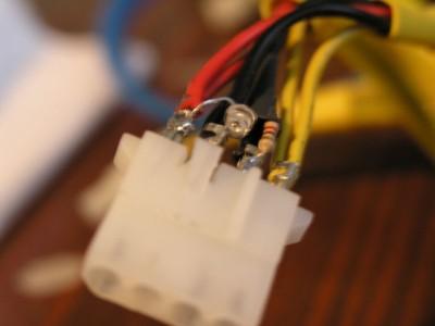 Светещи конектори на захранване ATX