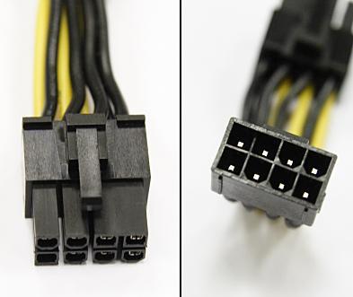 конектори на захранване GPU и CPU