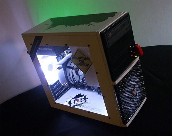 Модинг на кутия за PC