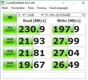 SSD Teclast - постигнати скорости, мнение
