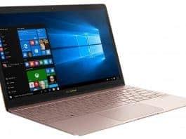 Ултра тънък лаптоп Асус