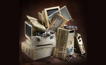 Стари компютърни части