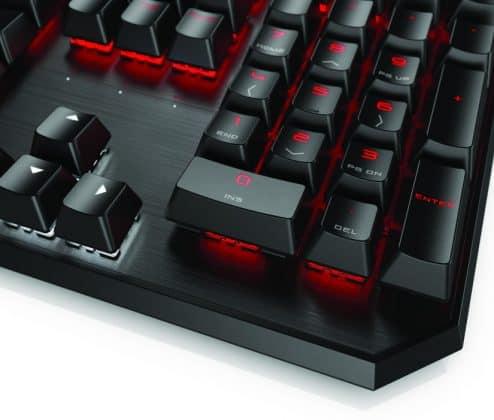 Уникална гейминг клавиатура от HP