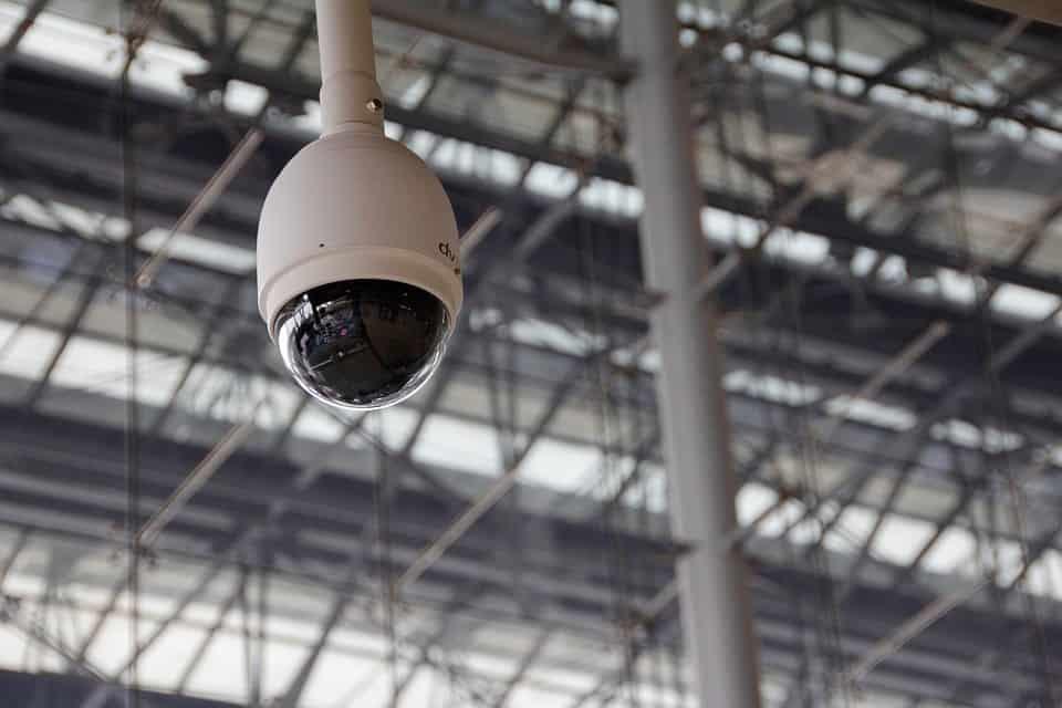 Широкоъгълна камера за видеонаблюдение